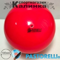 pastorelli-ball-185-red-red